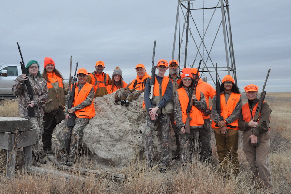 Girl hunters at RNC 2020 (Heather Francis photo)