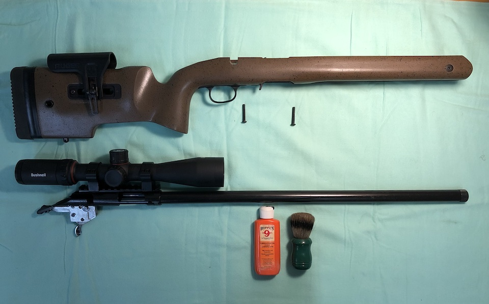 Initial Inspection of Ruger American Rimfire Long Range Target Rifle