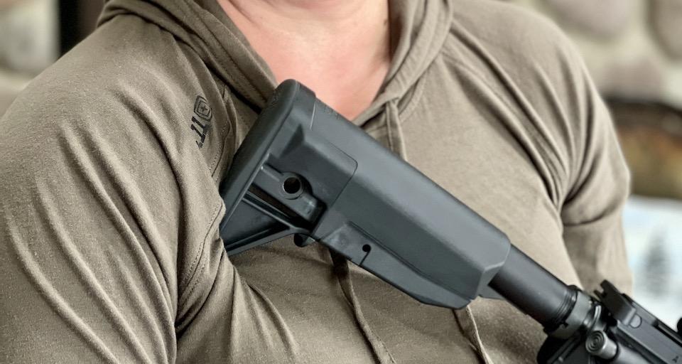 buttstock hinge AR