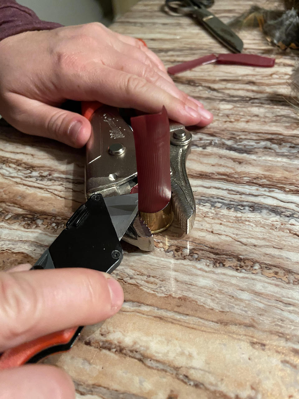 cutting shells