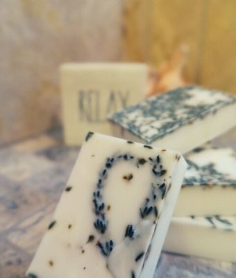 featured diy lavender soap