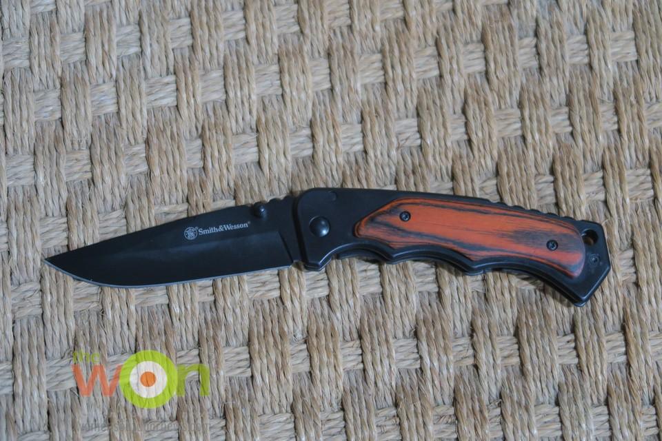 wooden folder knife