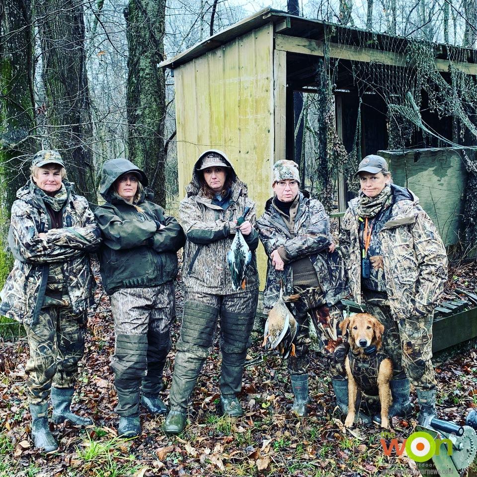 Sisterhood of the Outdoors Bust A Duck Hunt 21