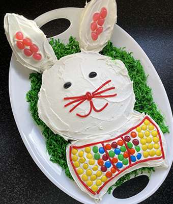 Easter Bunny Cake Feature.