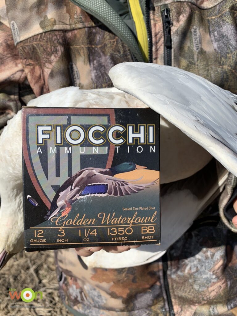 Fiocchi golden waterfowl ammo
