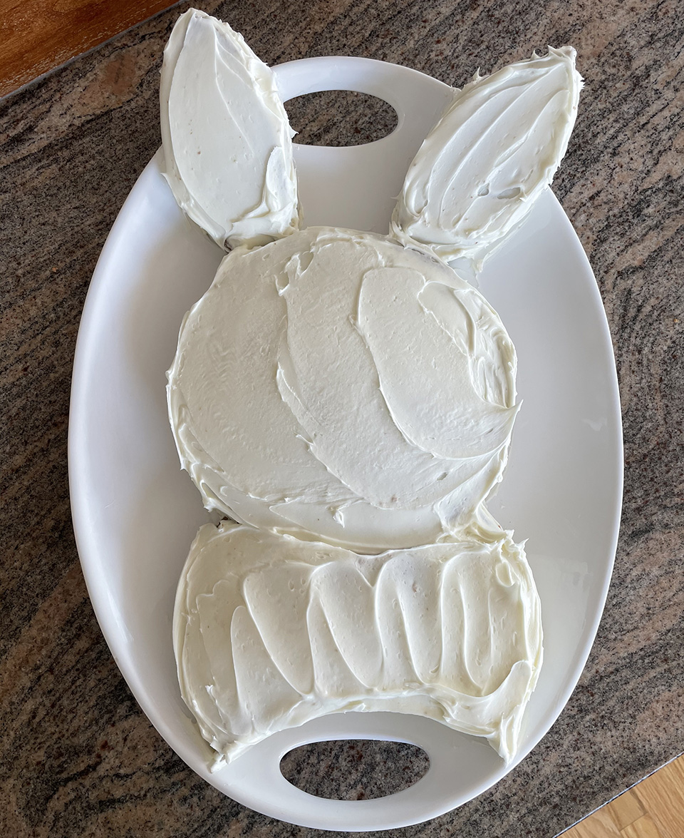 Iced Bunny Cake