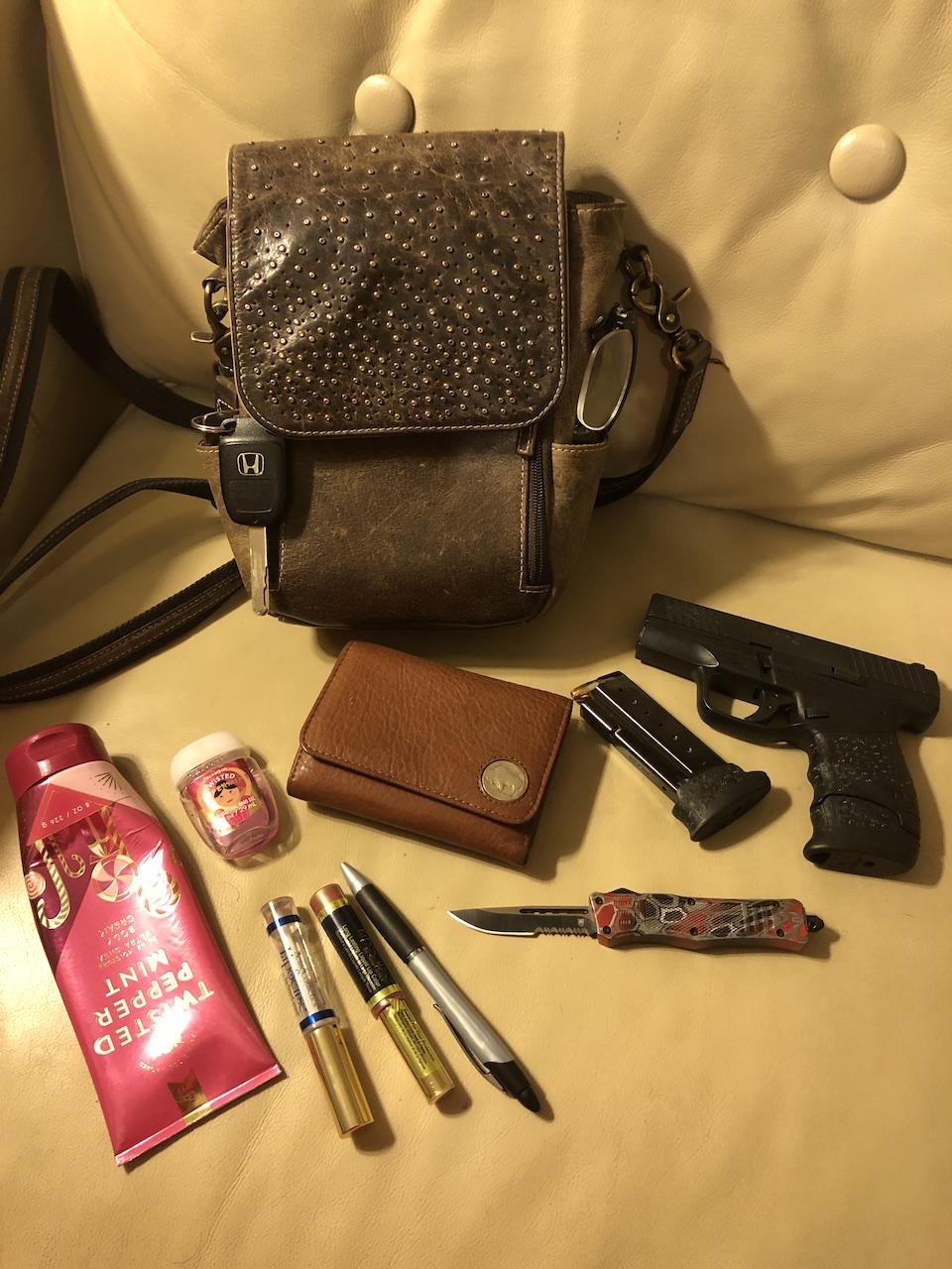 RhondA GTM ORiginal purse dump