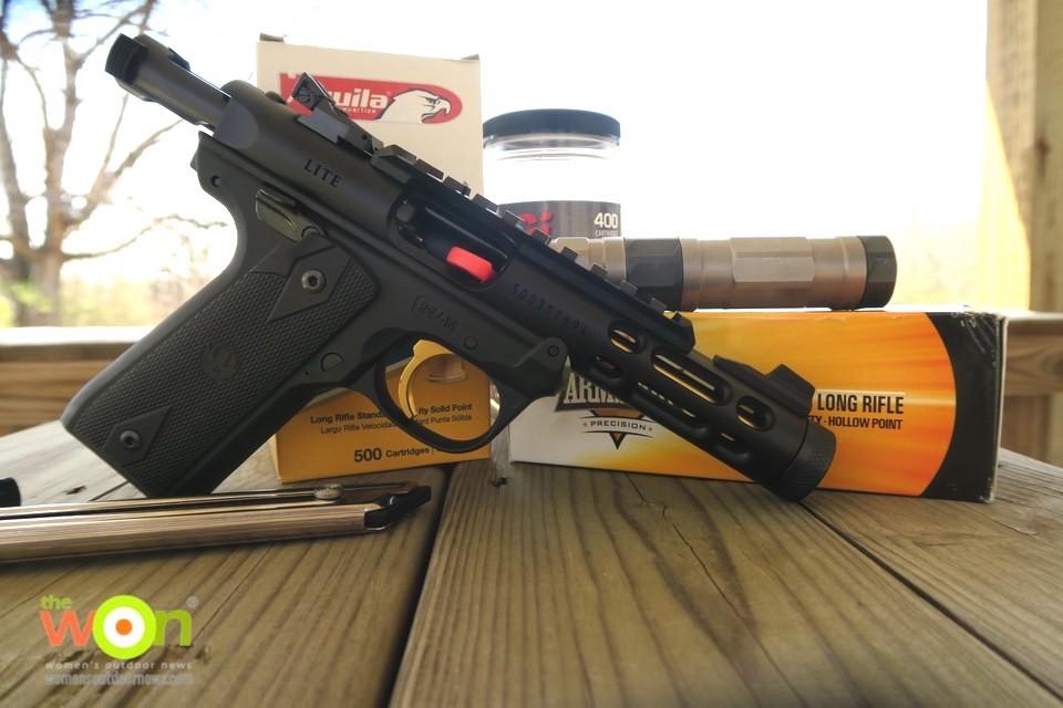 Ruger's Mark IV 22/45 ammo