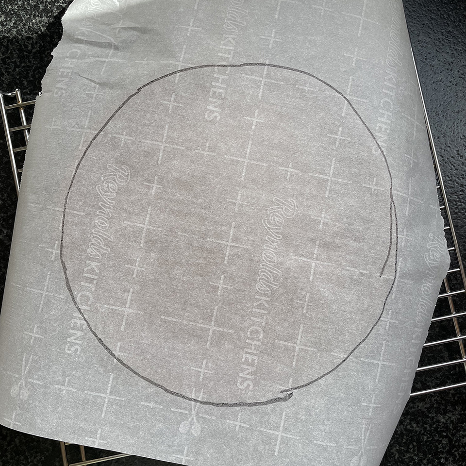 Tracing the Baked Cake