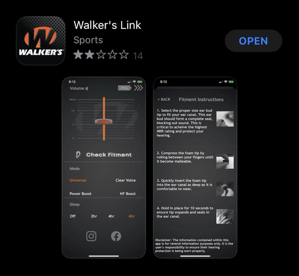 Walkers BT 2.0 App Download Birts