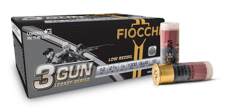 Fiocchi 3-Gun Matches Miculek Legacy shotgun slug