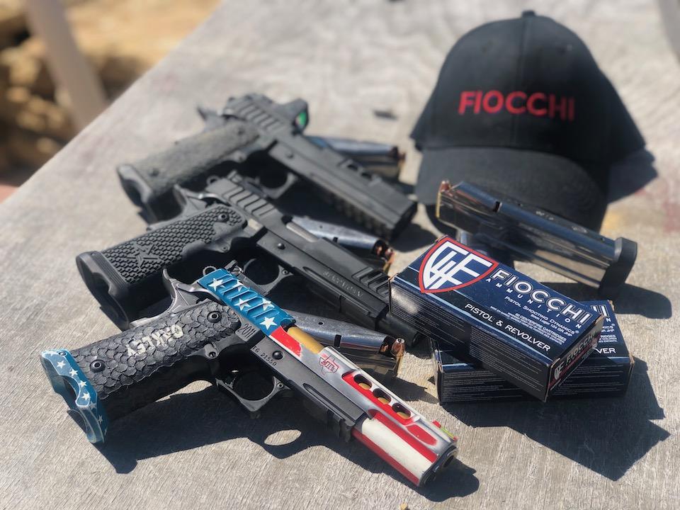Lanny Barnes pistols