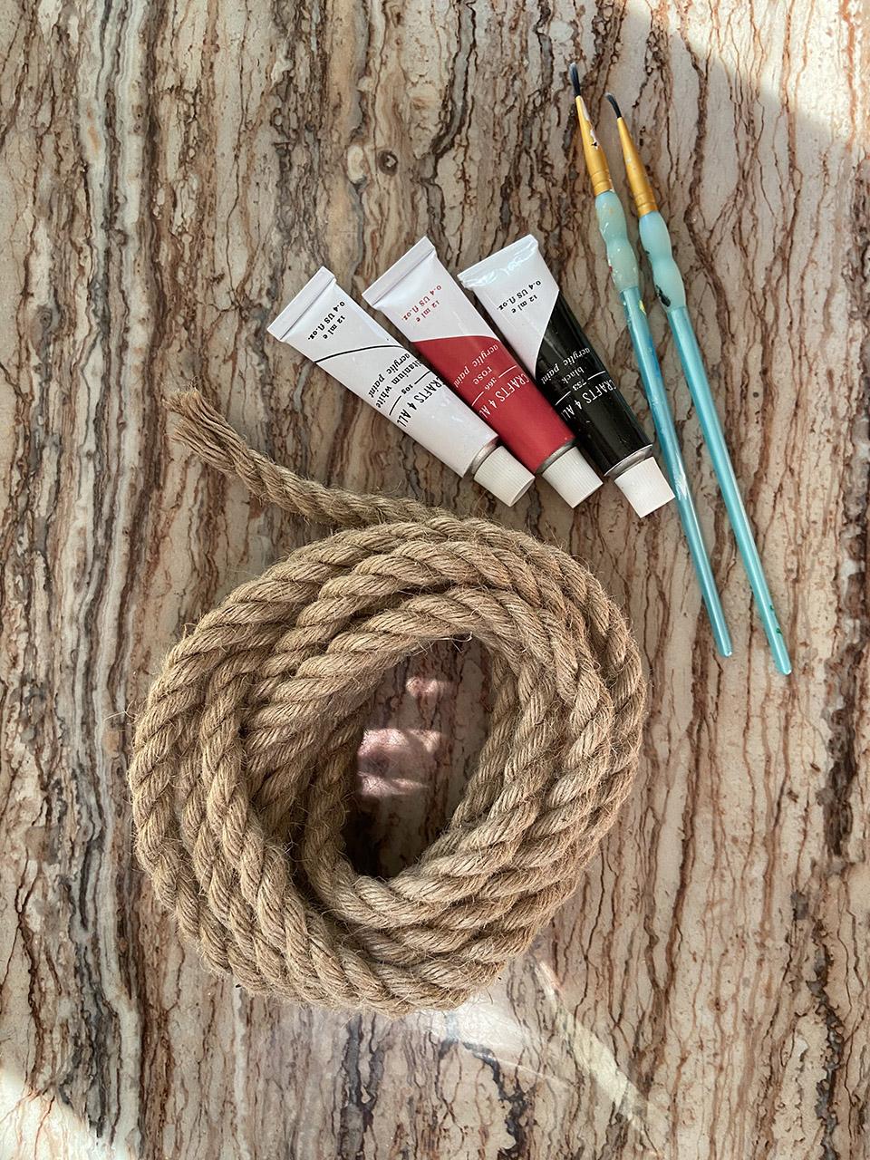 Hanging Bird Rock Craft Materials 2 Jessica White
