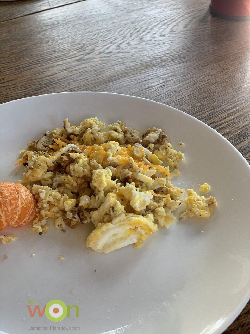 Next day eggs and Morel Mushrooms Recipe