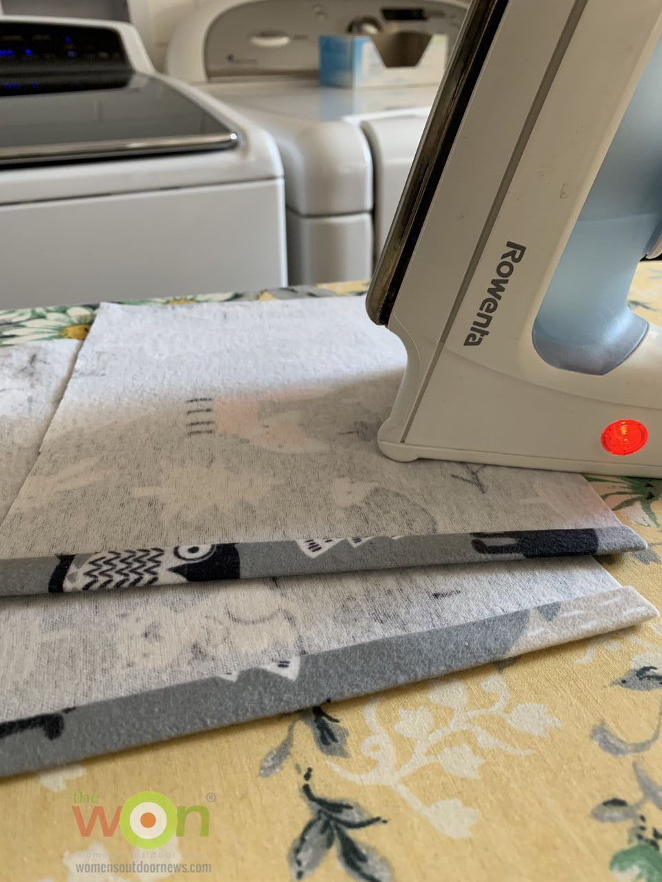 ironing hems flax bags