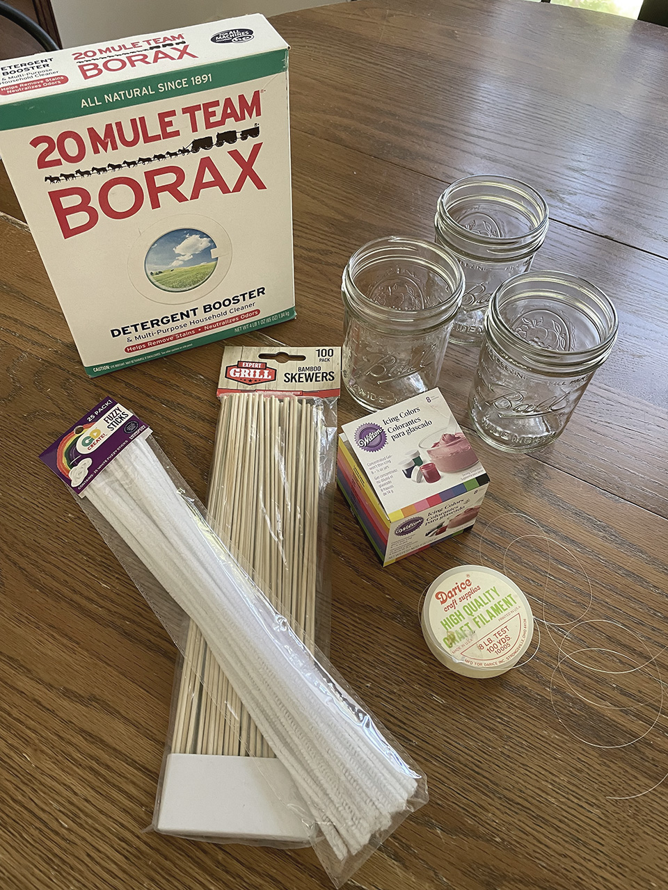 Borax Rock Crystal Materials