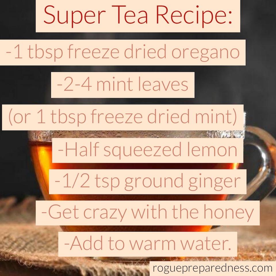 DIY Herbal Tea Recipe