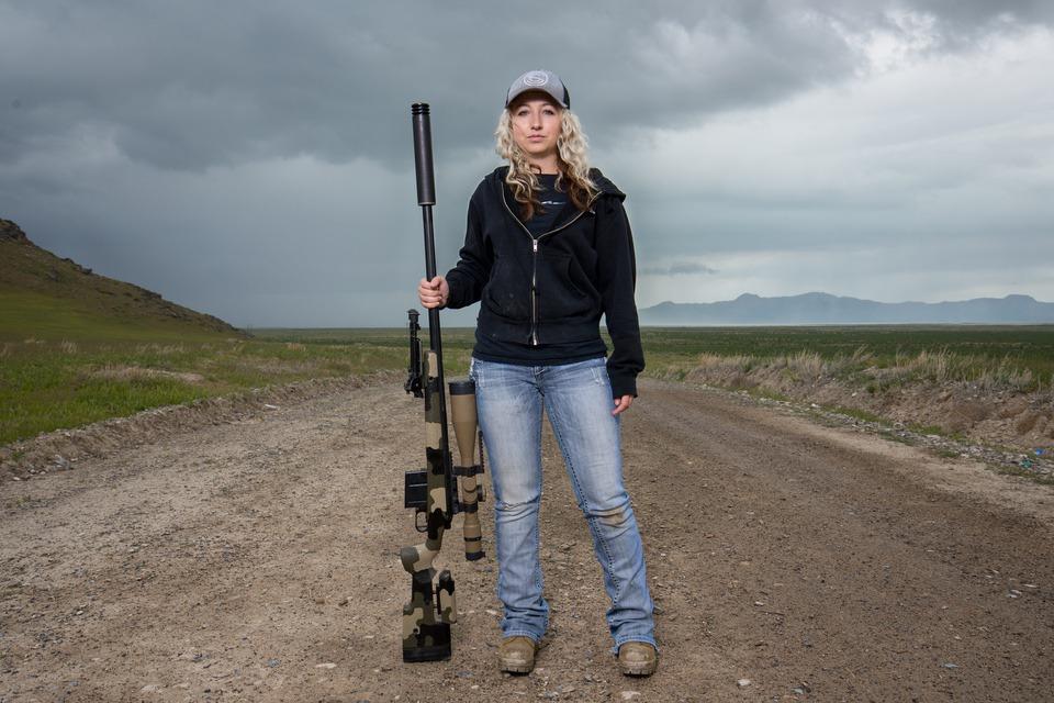 Shalice Parker precision rifle silencerco