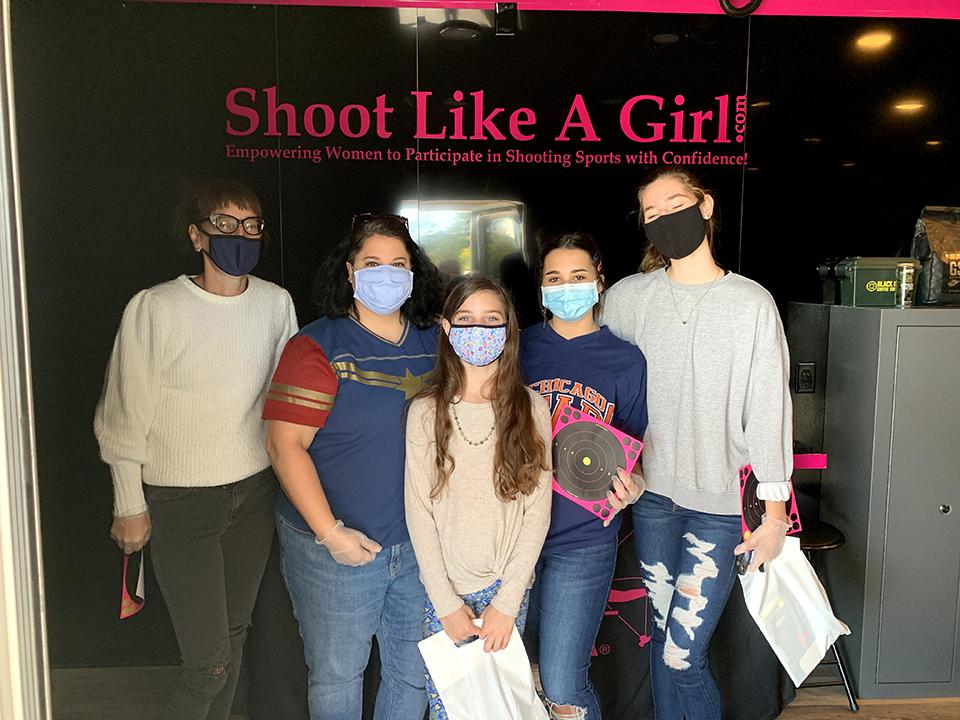 Shoot Like a Girl Participants