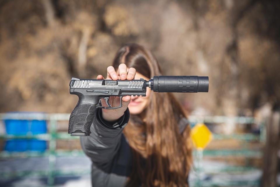 silencerCo on pistol