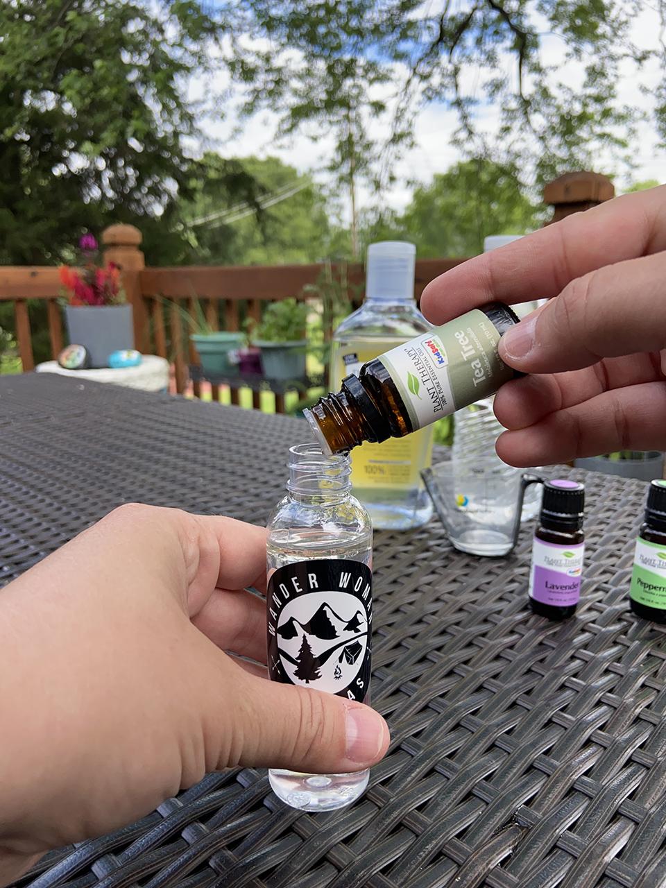Adding Tea Tree Oil