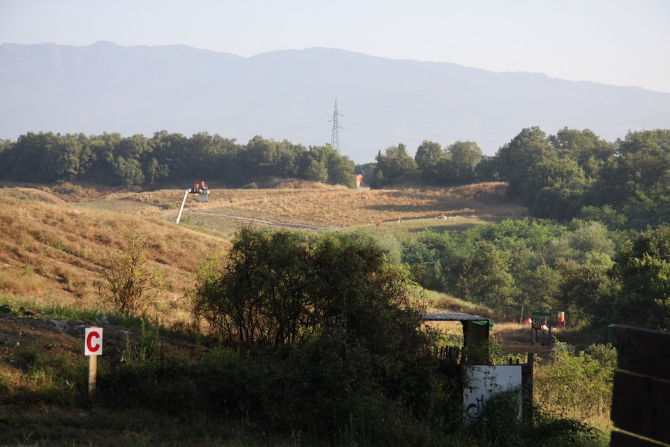 FITASC sporting terrain