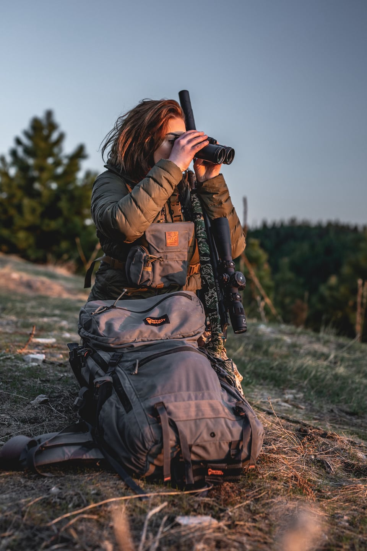 Hannah Kycek Hunting with SilencerCo Suppressor