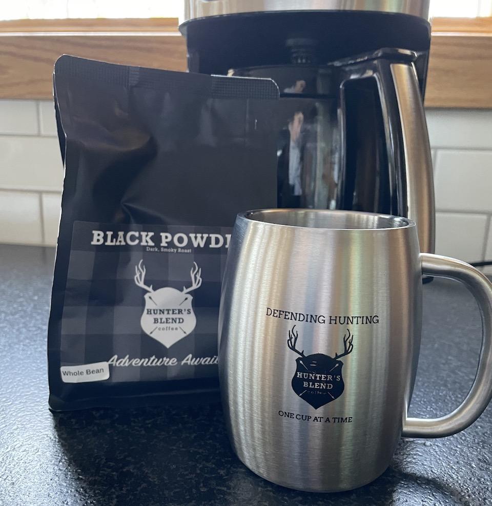 Hunters Blend Black Powder coffee