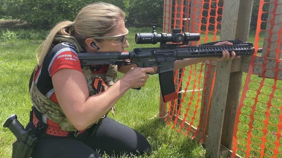 Jen Blake Crimson Trace scope
