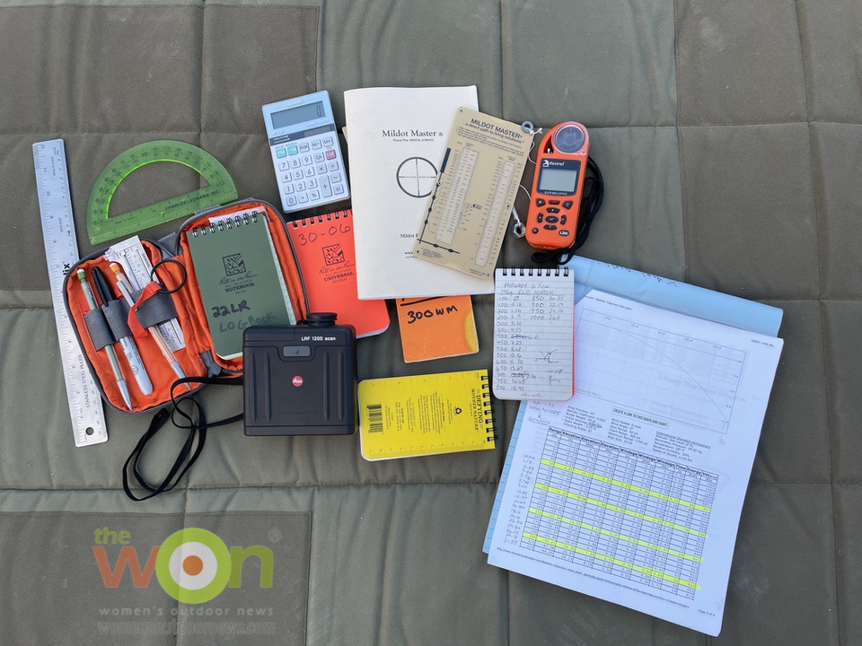 Logbooks, rangefinders and tools Precision Rifle Shooting
