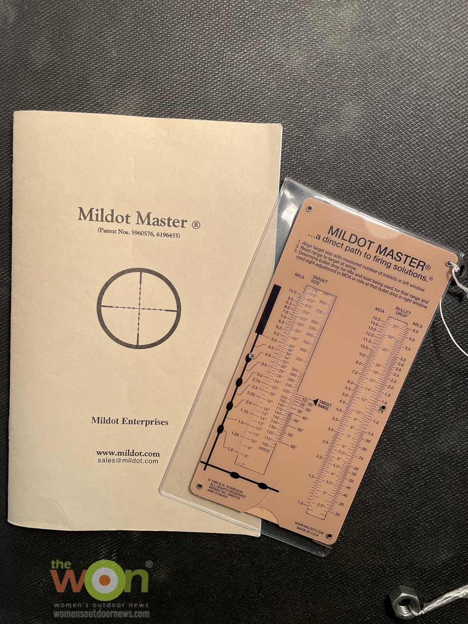 Mildot Master with instruction book Precision Rifle Shooting