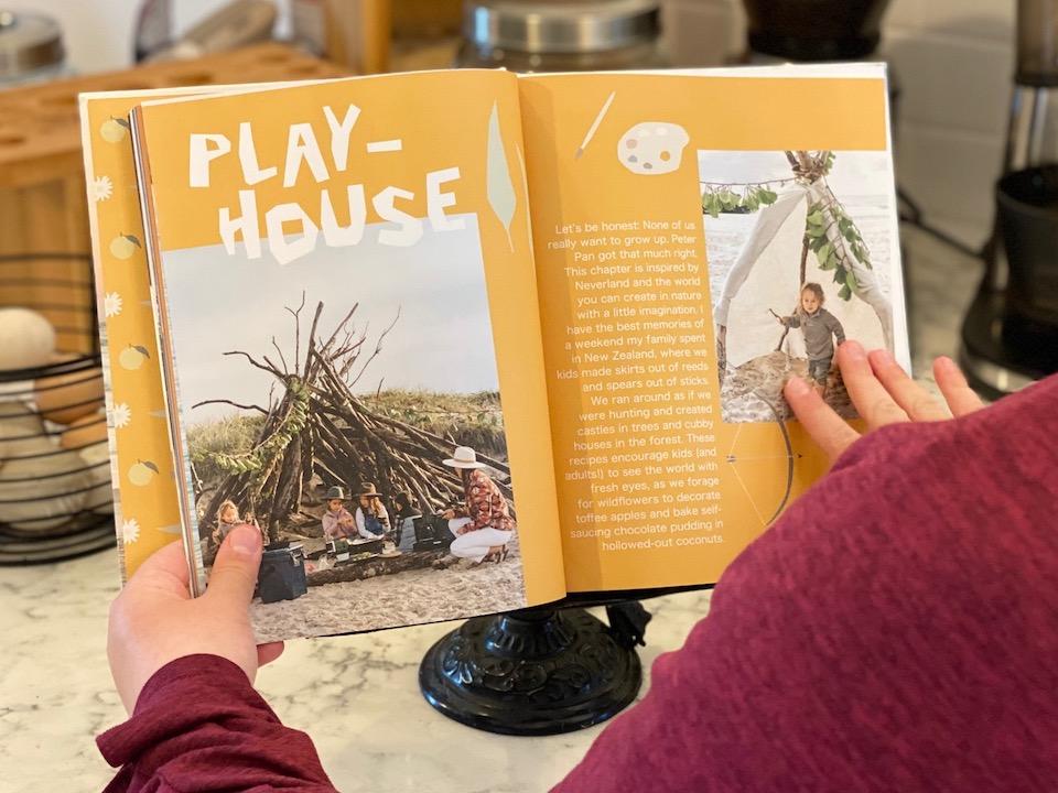 Cookbook Playhouse Idea