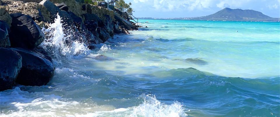open waters off Lanikai Beach