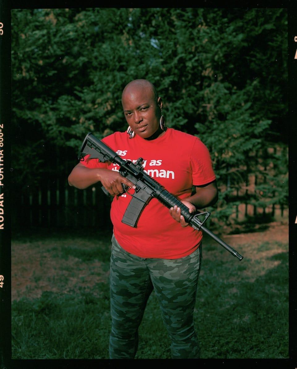 JoAnna American Gun Relator SilencerCo