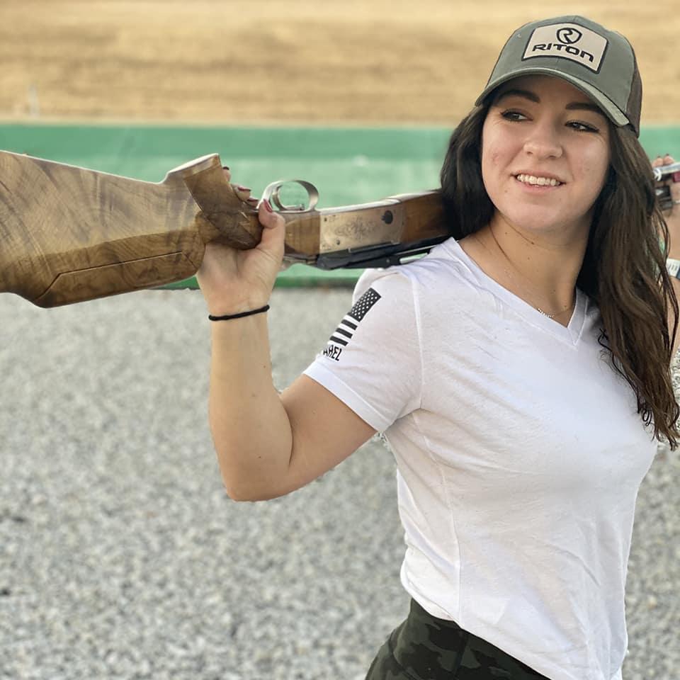 Julia Stalling shotgun