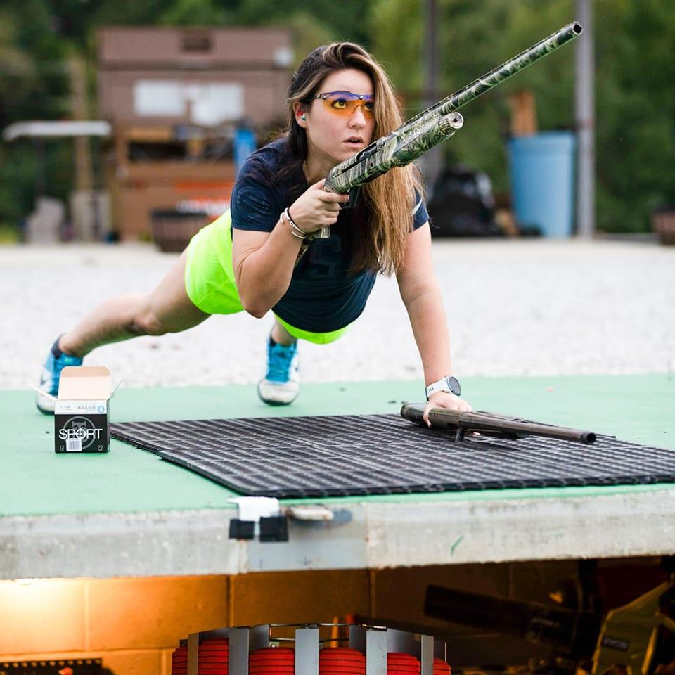 Julia Stallings clay shooting
