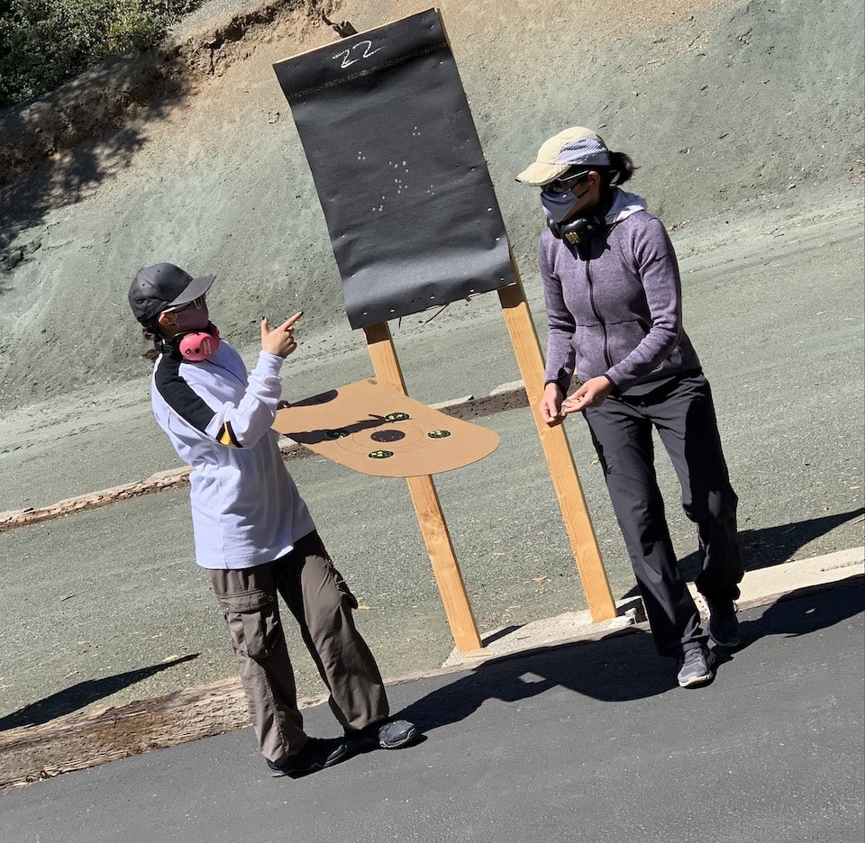 Shooting lesson day