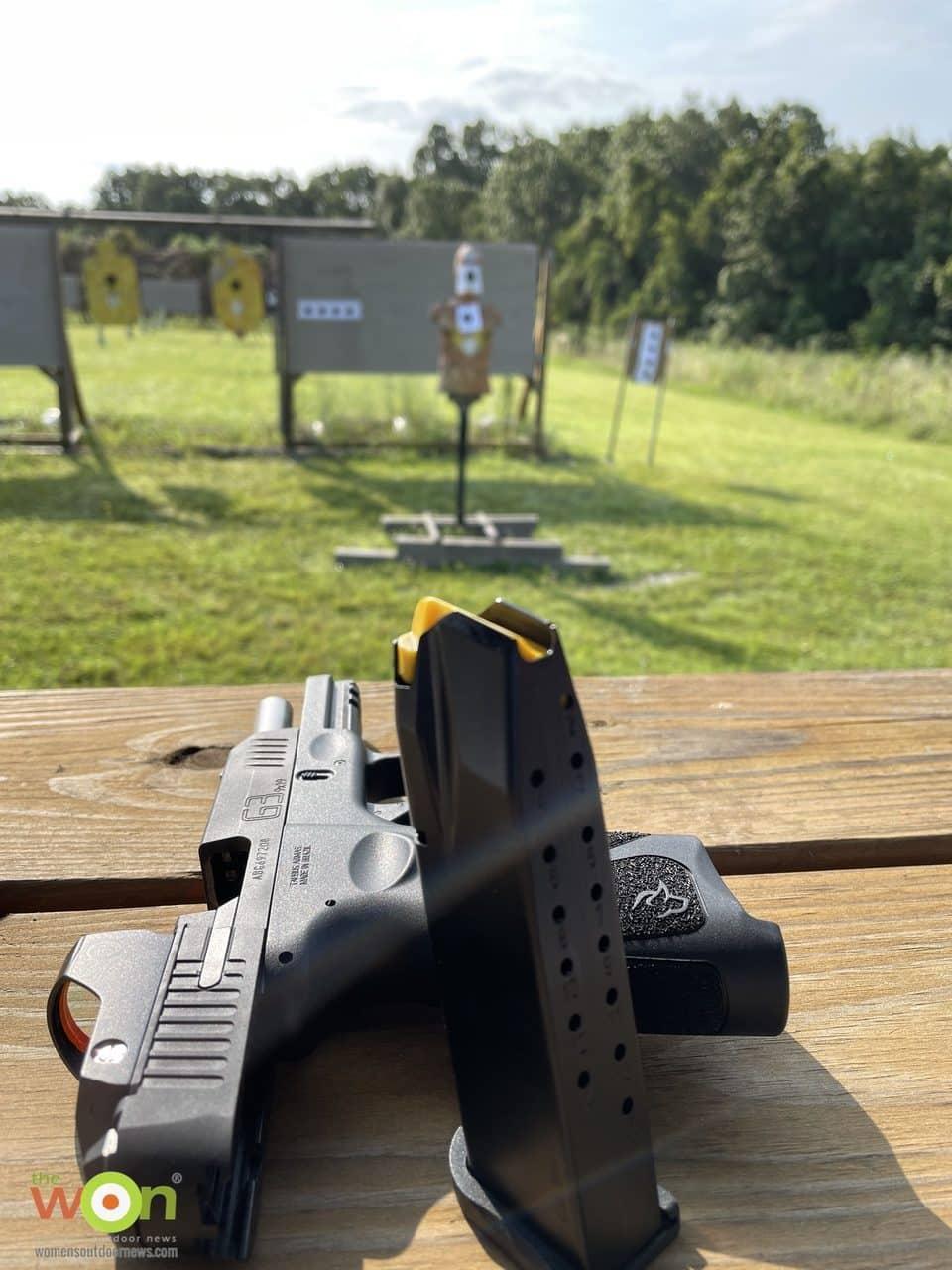 Taurus G3 on range
