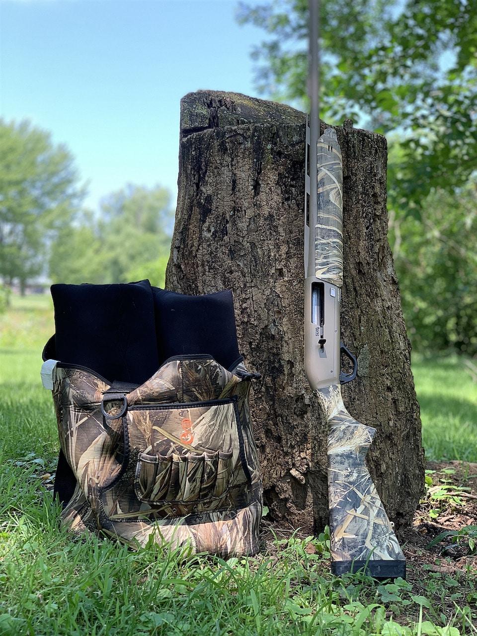 Winchester Super X4 waders stump