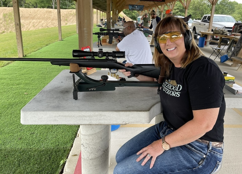 Amy Ray sighting in the .308