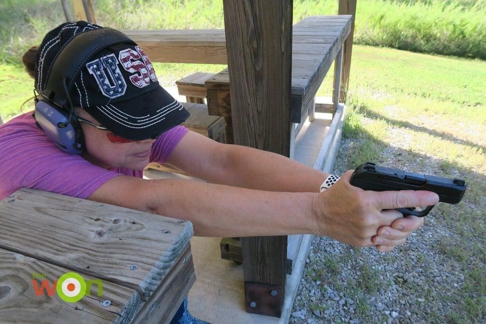 Babbs shooting Ruger LCP MAX