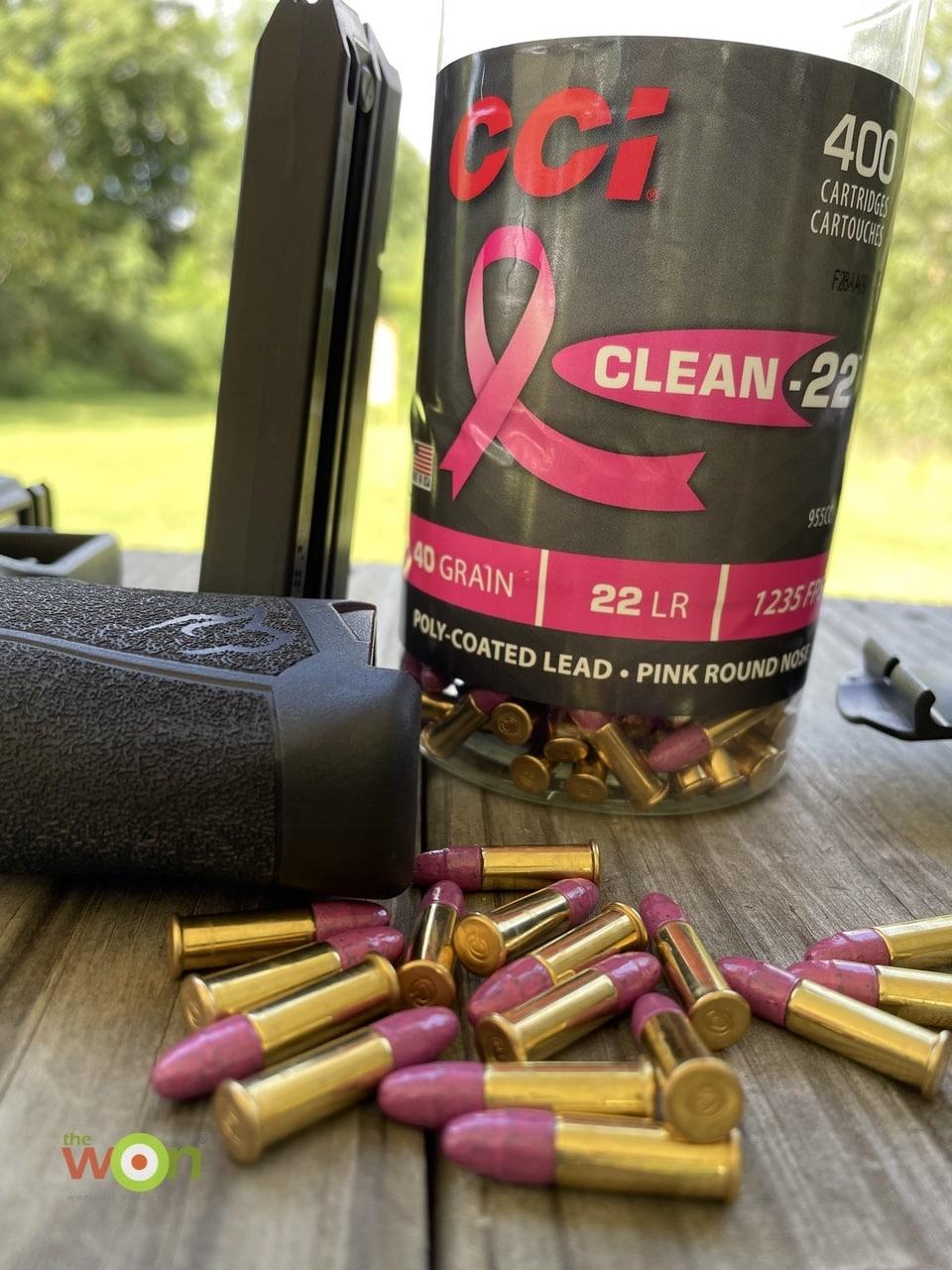 CCI pink rimfire ammo