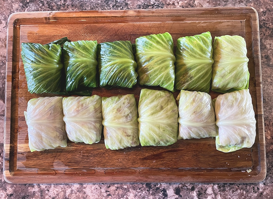 Cabbage Rolls Rolled