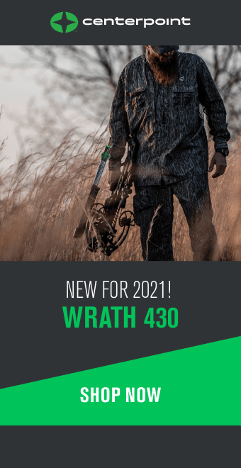 Designed for close-quarters hunting and ultimate stealth, the Centerpoint Wrath™ 430 Crossbow aggressively amps up the speed, power, and accuracy all within the smallest crossbow CenterPoint makes. Whether you've taken up a sniper position in a tree saddle or are shifting on the fly to outfox a change in wind direction, this bullpup-style bow tightens your profile and keeps you nimble. 340x600