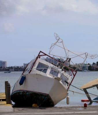 Hurricane season boat feature