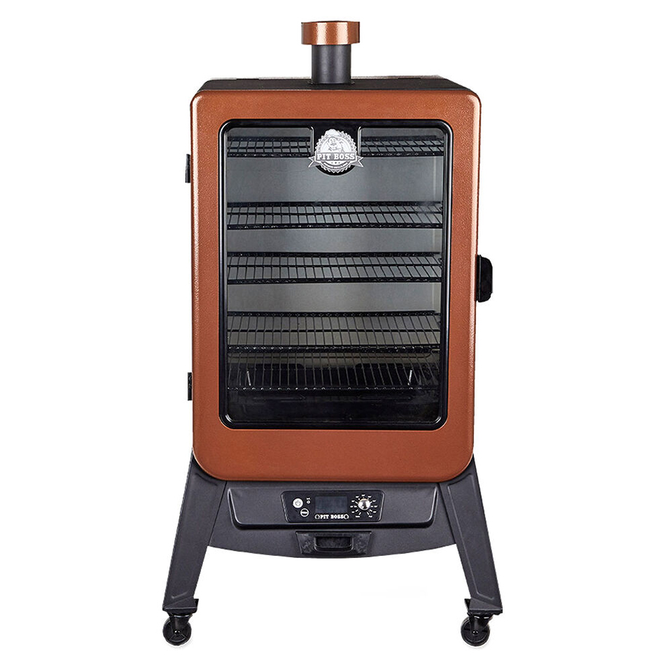 Pit Boss Copperhead 5-Series Wood Pellet Vertical Smoker (MSRP $499.99)