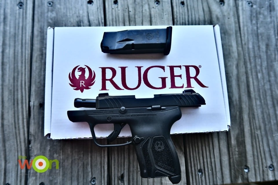 Ruger and box