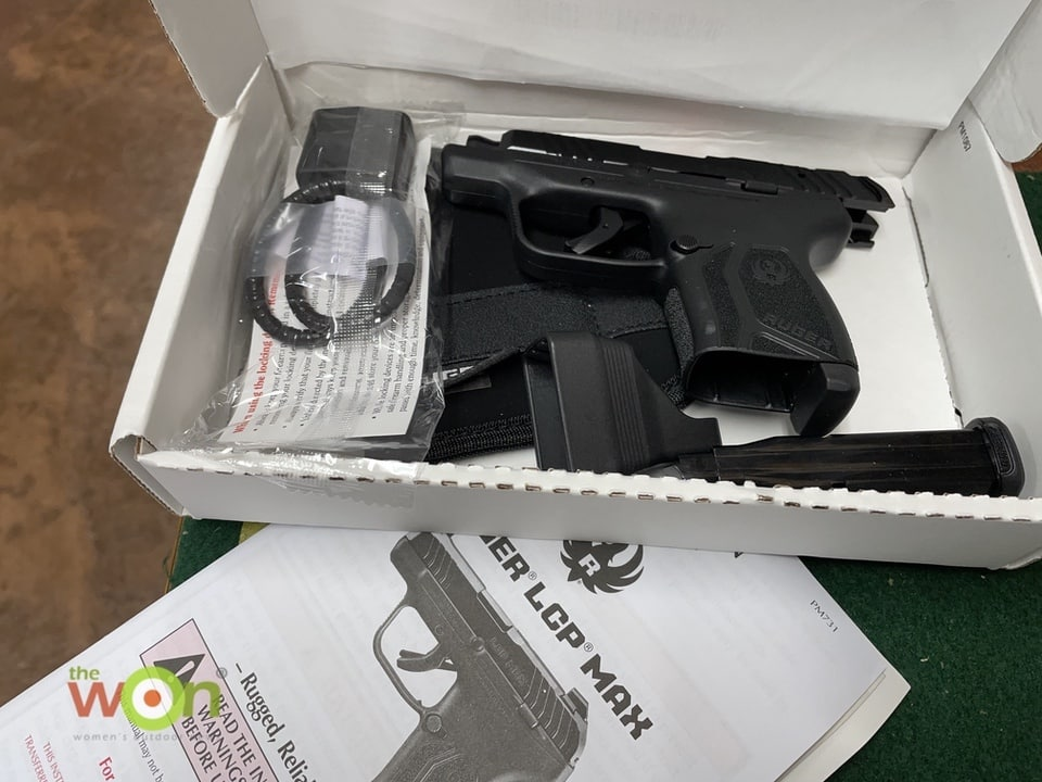 Ruger in Box LCP MAX