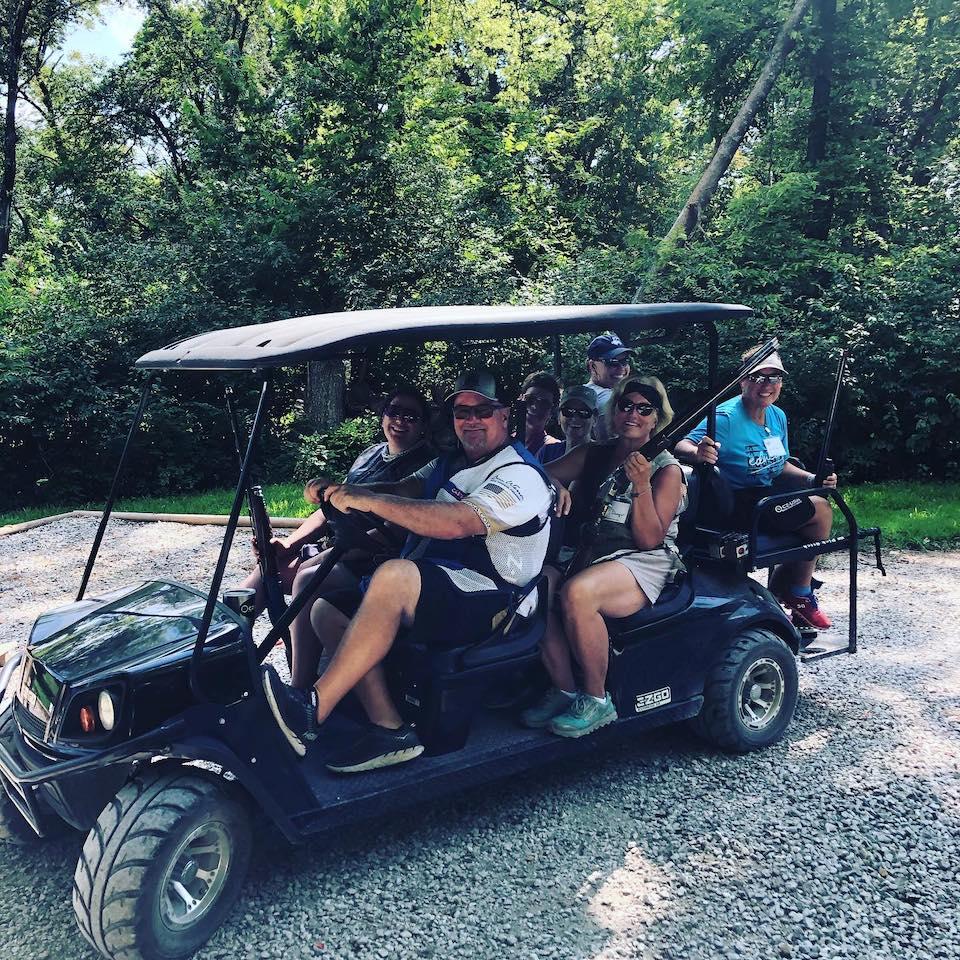 SPorting Clays golf cart Shotgun Sports Etiquette