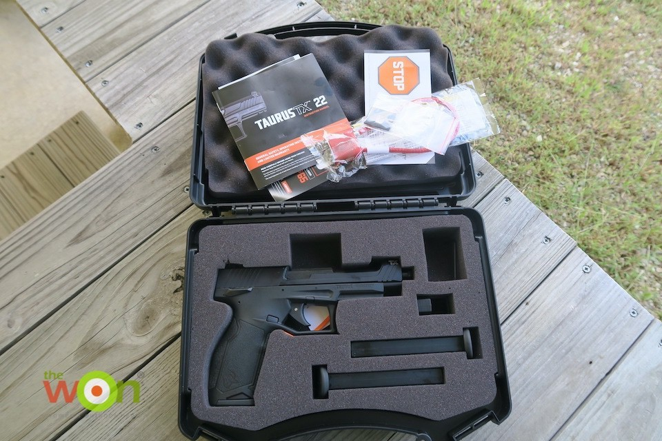TaurusTX 22 in box